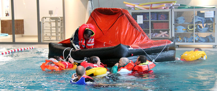RYA Basic Sea Survival Poolsession